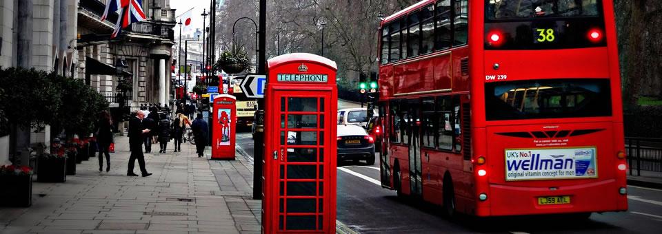 Londres ônibus