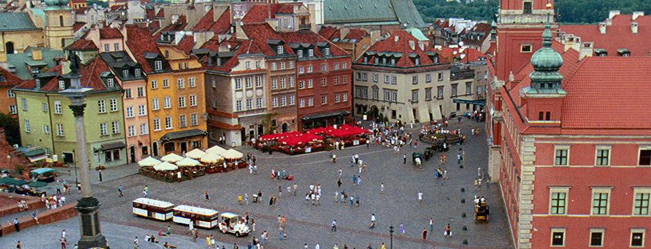De Varsóvia a Moscou - sem aéreo