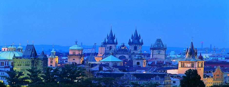 Viena, Budapeste, Praga e Berlim