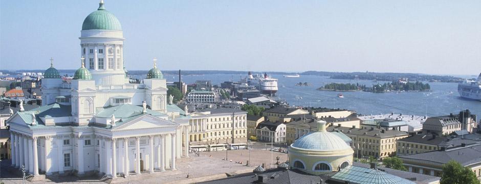 Copenhague a Helsinque - sem aéreo