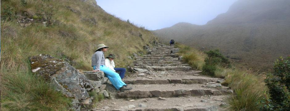 Trilha de Salkantay e Machu Picchu