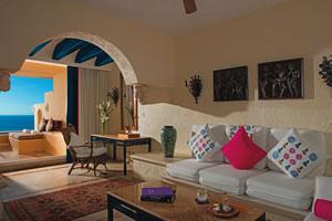 Ocean Front One Bedroom Suite with Terrace – De frente para o mar
