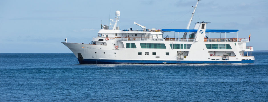 Galápagos Ilhas Centrais com Iate Isabela II