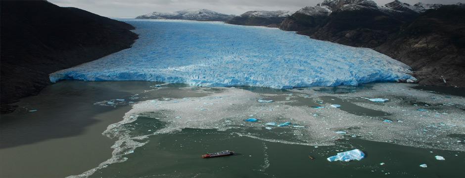 Campo de Gelo Sul - Skorpios III ( parte marítima )