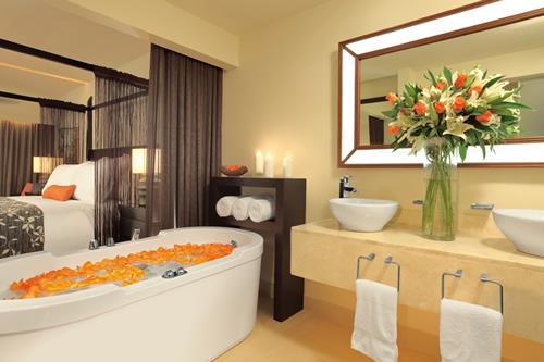 banheiro Junior Suite Hotel Secrets Wild Orchid Montego Bay