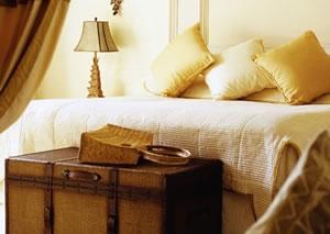 Roupas de cama e travesseiros com essências no Zoëtry Paraiso de la Bonita