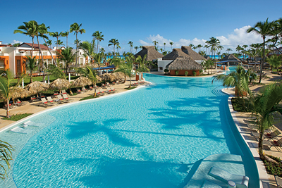 piscina do Hotel Breathless Punta Cana