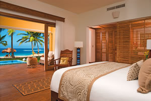 The Ocean Front Junior Suite Deluxe  - Zoëtry Agua Punta Cana