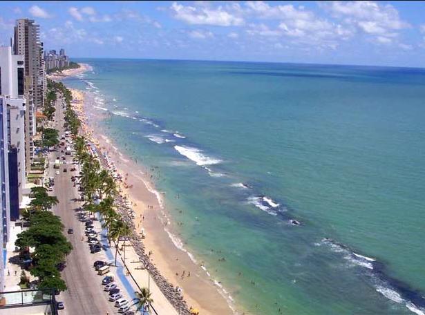 Recife_litoral urbano_visto de cima