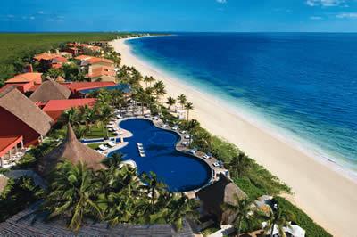 vista do hotel Zoëtry Paraiso de la Bonita