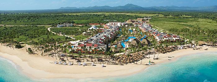 panorâmica Hotel Breathless Punta Cana