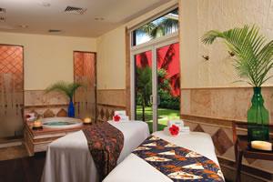 Salas para tratamentos especializados no Zoëtry Paraiso de la Bonita